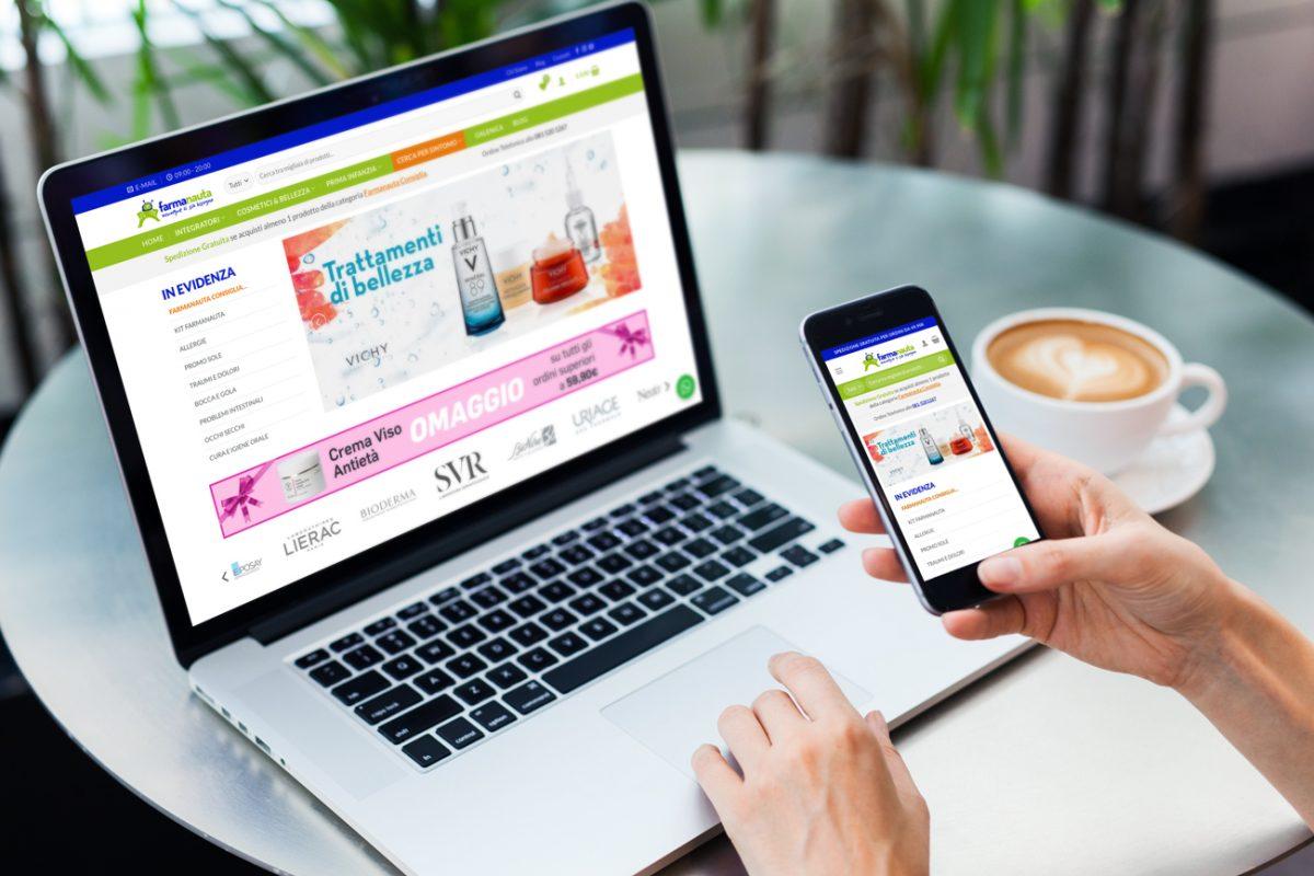farmanauta realizzazione e-commerce